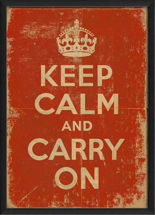 EB Keep Calm and Carry On