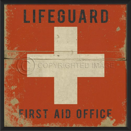 EB Lifeguard First Aid Office black text
