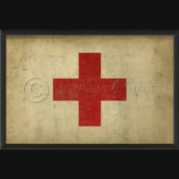 EB Red Cross Flag