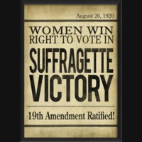EB Headline Suffragette Victory