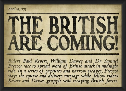 EB Headline British are Coming II