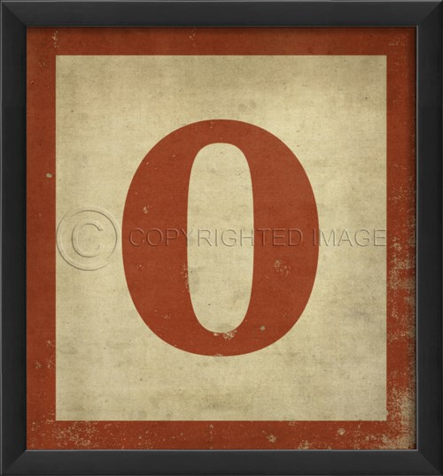 EB Number 0 in Red