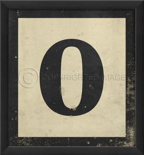 EB Number 0 in Black