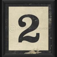 EB Number 2 in Black