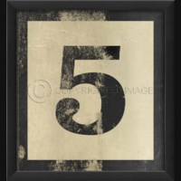 EB Number 5 in Black
