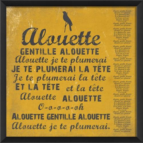 EB Alouette on yellow