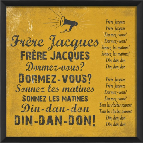 EB Frere Jacques on yellow