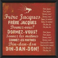 EB Frere Jacques on red