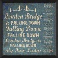EB London Bridge on blue