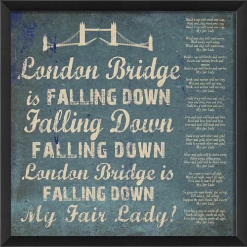 EB London Bridge on blue