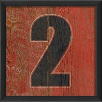 EB Number 2 wooden red