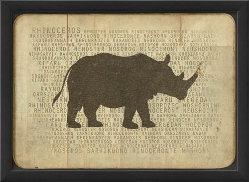 EB Rhino Silhouette