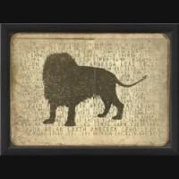 EB Lion Silhouette