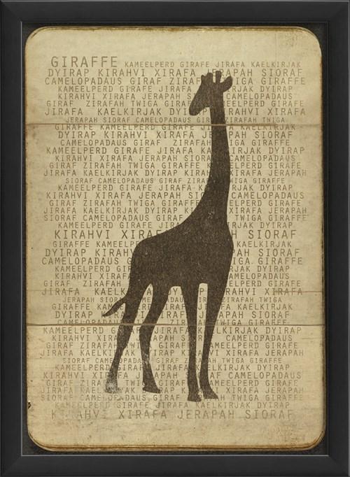 EB Giraffe Silhouette