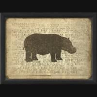 EB Hippo Silhouette
