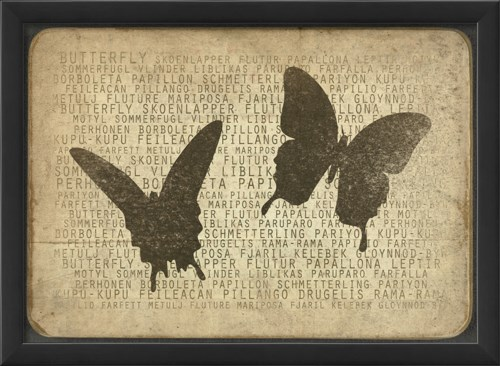 EB Butterfly Silhouette