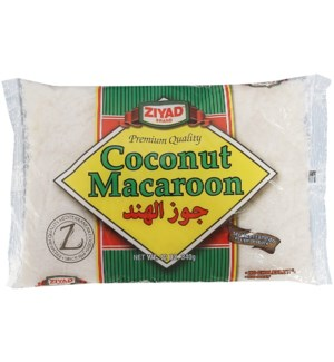 ZIYAD COCONUT MACCAROON 12OZ