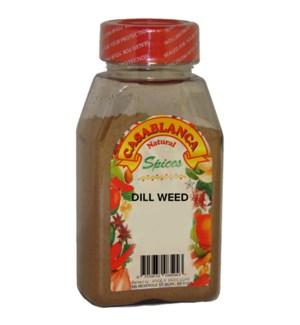 CASABLANCA SPICES DILL WEED 2OZ