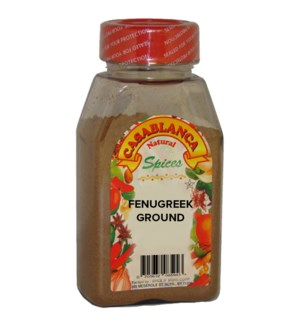 CASABLANCA SPICES FENUGREEK GROUND 9OZ