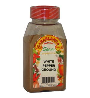 CASABLANCA WHITE PEPPER GROUND 7 OZ