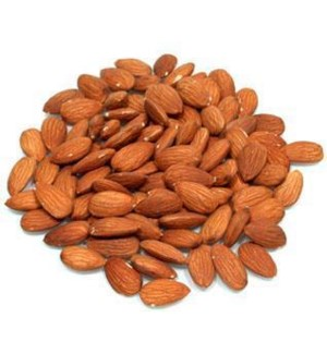 RAW WHOLE ALMOND  (PACK OF 1 LB)
