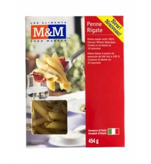 M&M ITALIAN PENNE RIGATE 16OZ