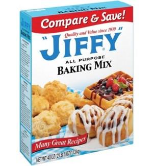 JIFFY PANCAKE AND WAFFLE MIX 32 OZ