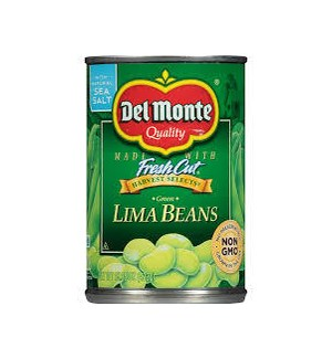 DEL MONTE FRESH CUT LIMA BEANS 8.5OZ