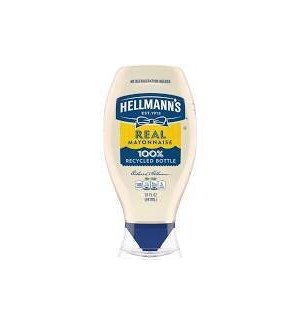 HELLMAN'S REAL MAYO SQUEEZE 20OZ