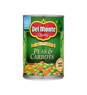 DEL MONTE PEAS & CARROTS 14.5OZ