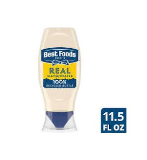 HELLMANN'S REAL MAYO SQUEEZE 11.5OZ