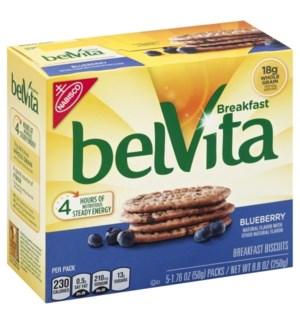 BELVITA BISCUITS BLUEBERRY 5PK