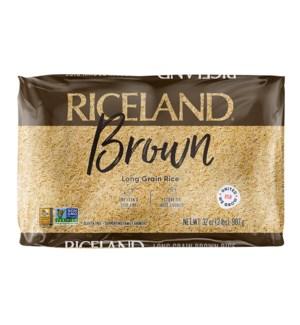 RICELAND BROWN  LONG GRAIN BROWN RICE2 LB.