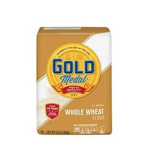 GOLD MEDAL WHOLE WHEAT FLOUR 5LB
