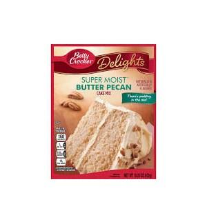 BETTY CROCKER BUTTER PECAN CAKE MIX15.25OZ