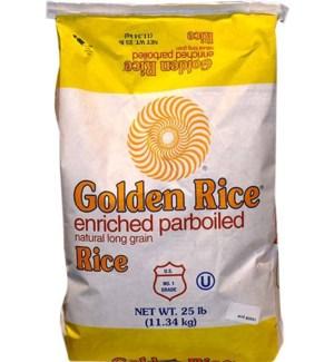 GOLDEN RICE 25LBS