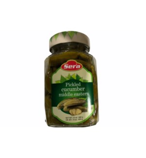 SERA MIDDLE EASTERN STYLE PICKLED CUCUMBERS IN JAR 680G