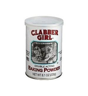 CLABBERGIRL BAKING POWDER 8.1OZ