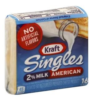 KRAFT AMERICAN 2% IWS SINGLES 16S