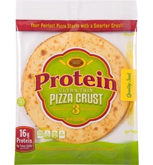 GOLDEN HOME PIZZA PROTEIN CRUST 3CT