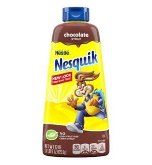 NESQUIK CHOCOLATE SYRUP 22OZ