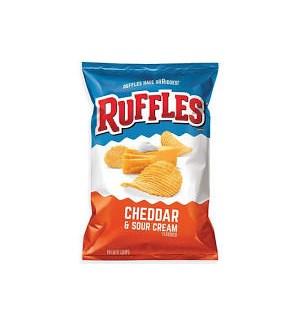 RUFFLES CHEDDAR SOUR CREAM 2.5OZ