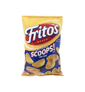 FRITOS SCOOPS CORN CHIPS 9.25OZ