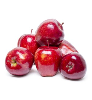 SMALL RED DELICIOUS APPLES (PACK OF 5 APPLES)
