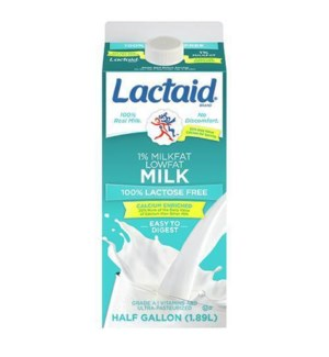 LACTAID LOWFAT 1% 64OZ
