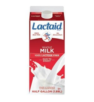 LACTAID WHOLE MILK 64OZ