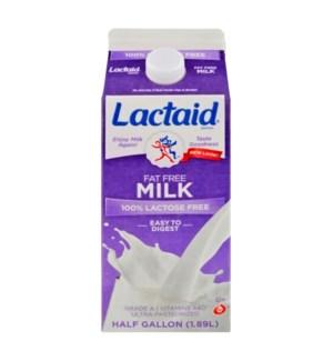LACTAID FAT FREE MILK 96OZ