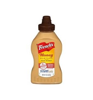 FRENCH'S HONEY MUSTARD SQUEEZE 12OZ