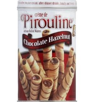 PIROULINE WAFER ROLLED CHOC HAZELNUT 14 OZ