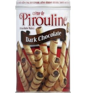 PIROULINE WAFER ROLLED DARK CHOCOLATE 14 OZ